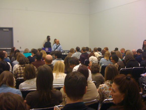 This is what a panel at AWP looks like